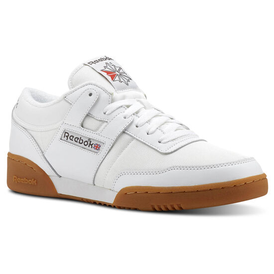 Reebok - Workout 85 TXT Archive-White/Grey/Red/Gum CN3660