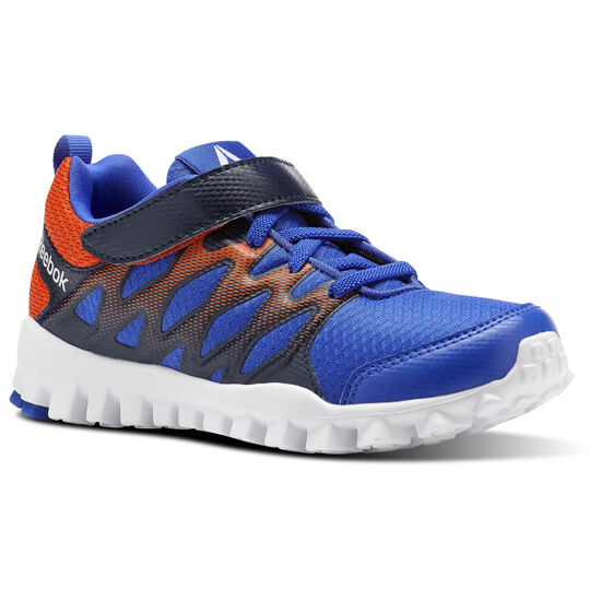 Reebok - RealFlex Train 4.0ALT Acid Blue/Collegiate Navy/Bright Lava/White CN0094