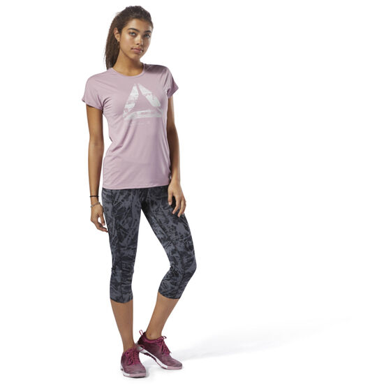 Reebok - ACTIVCHILL Graphic Tee Infused Lilac D93866