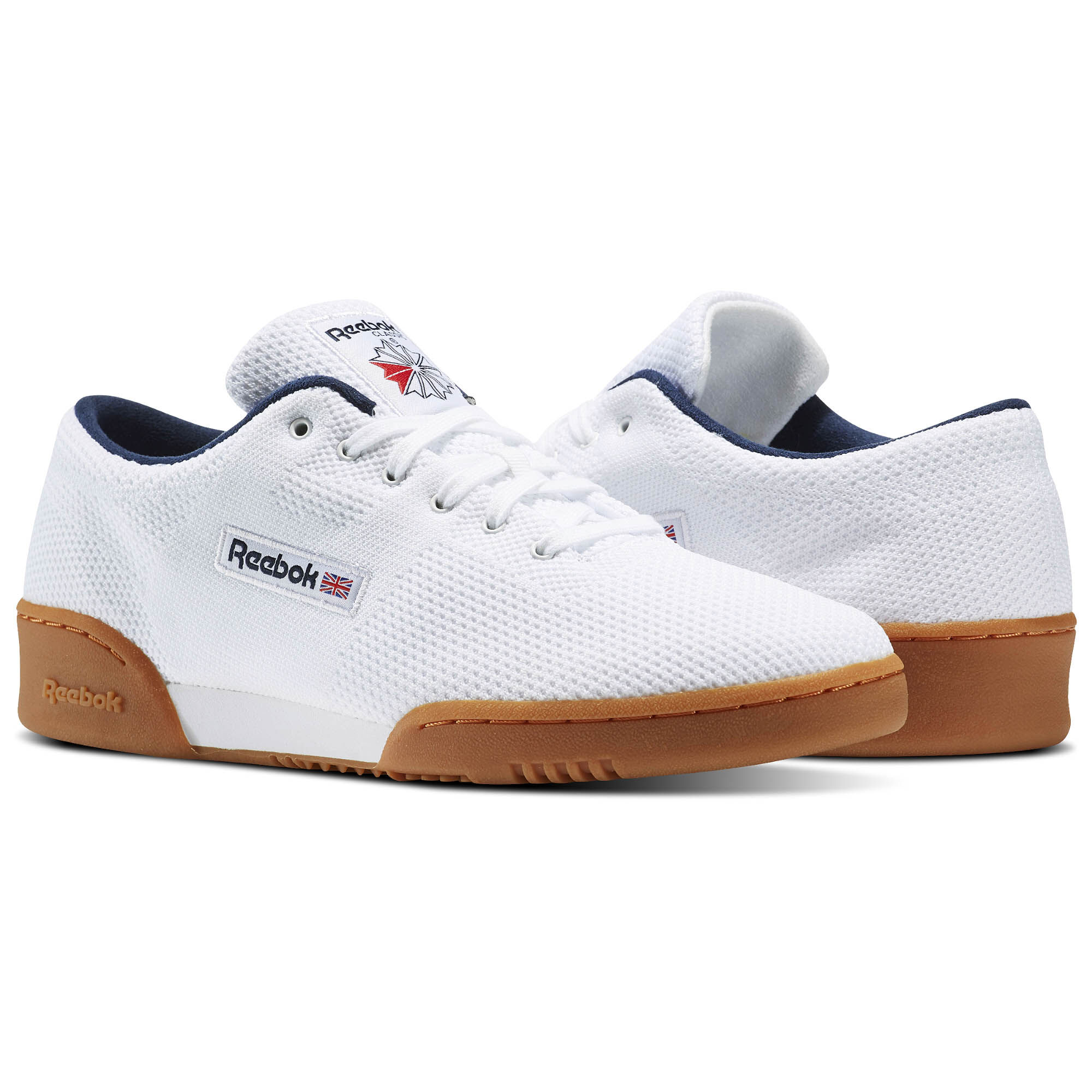 white workout 85 TXT leather sneakers Reebok vYnSPUGf4