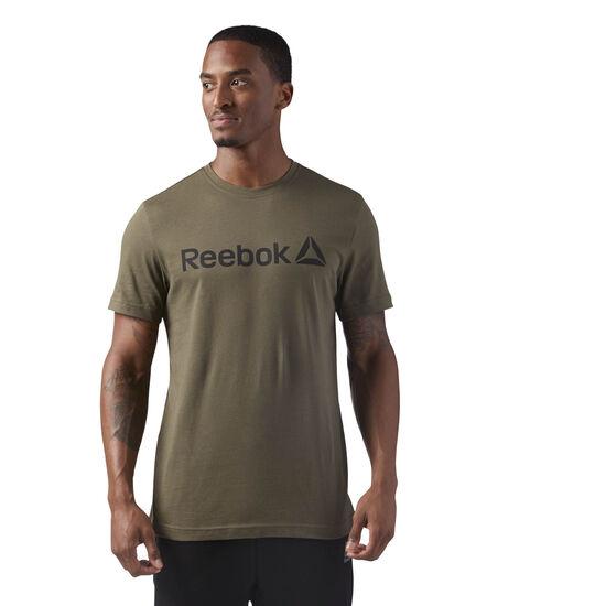 Reebok - Reebok Logo Tee Army Green CF3897