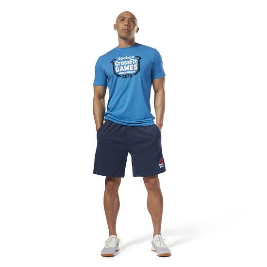 Reebok - Reebok CrossFit Games Crest Tee Mendota Blue DN2396