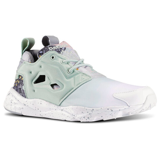 Reebok - Furylite Contemporary White/Sage Mist/White/Tin Grey V69636