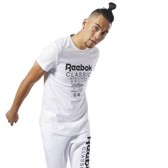 Reebok - Classics Unisex Short Sleeve Extended Tee White DJ1893