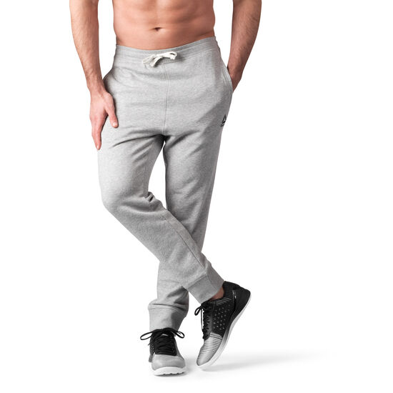 Reebok - French Terry Cuffed Pant Medium Grey Heather BK5054