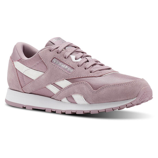 Reebok - Classic Nylon Infused Lilac/White/Silver CN3315