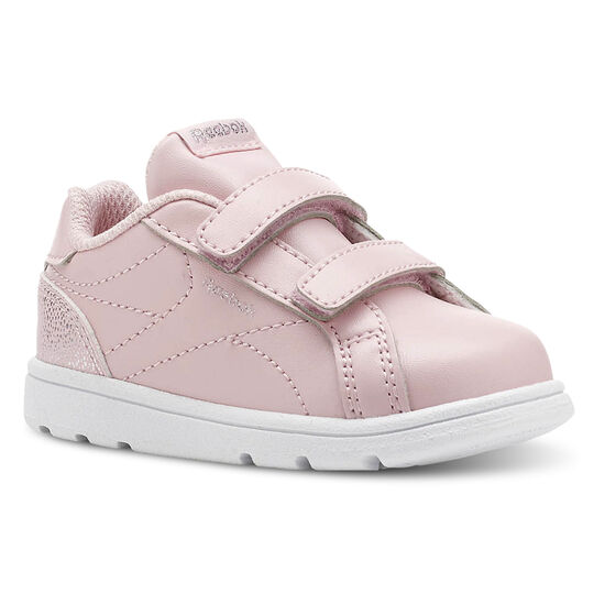 Reebok - Reebok Royal Complete Clean - Infant & Toddler Pastel-Practical Pink/White/Silver CN5066