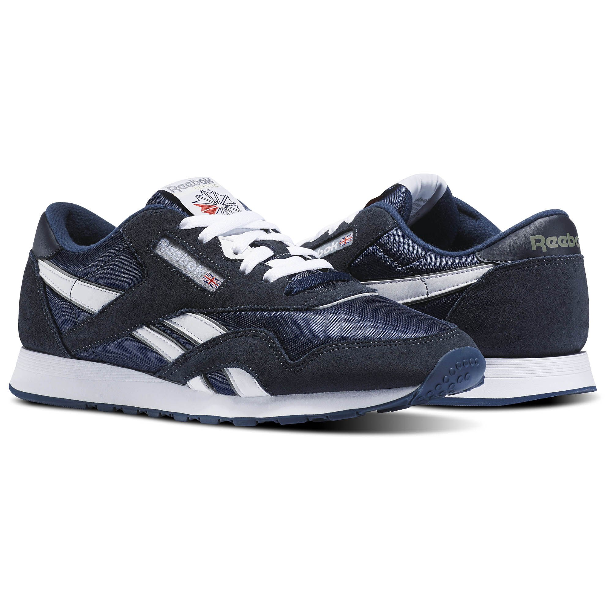 Reebok - Classic Nylon Team Navy/Platinum 39749