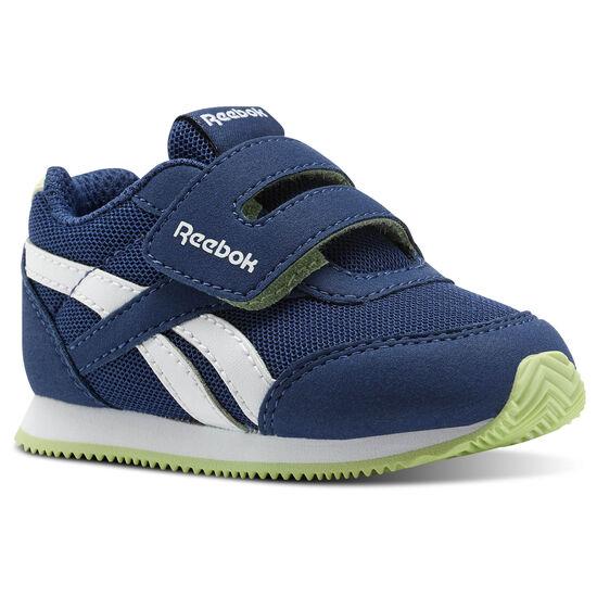Reebok - Reebok Royal Classic Jogger 2.0 KC Washed Blue/White/Lime Glow CN1323