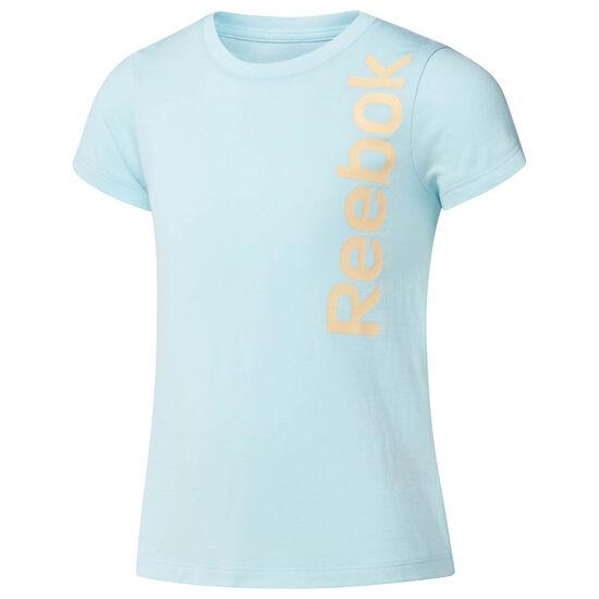 Reebok - Graphic Crewneck T-Shirt Turquoise/Blue Lagoon CF4222
