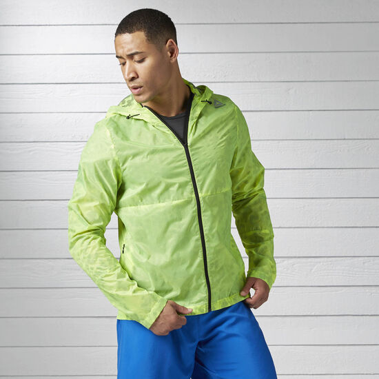 Reebok - Running Wind Breaker Solar Yellow BK7335