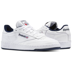 debd25d13b2 Add To Bag. Compare. Reebok - Club C 85 Intense White Navy AR0457