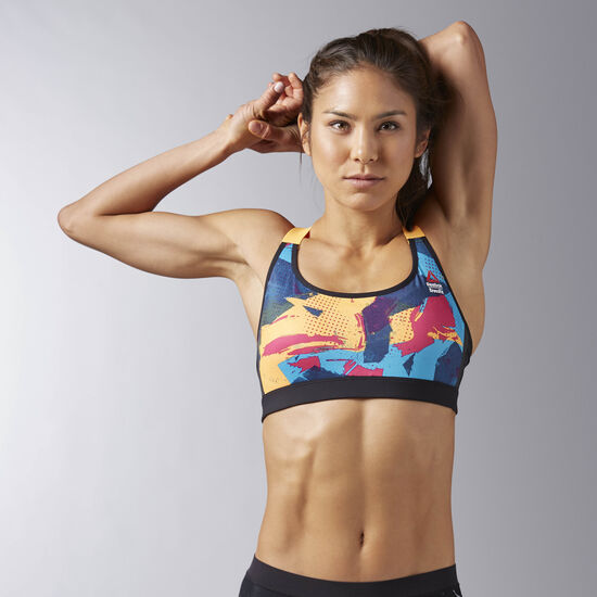 Reebok - Reebok CrossFit High Impact Sports Bra Fire Spark B45196