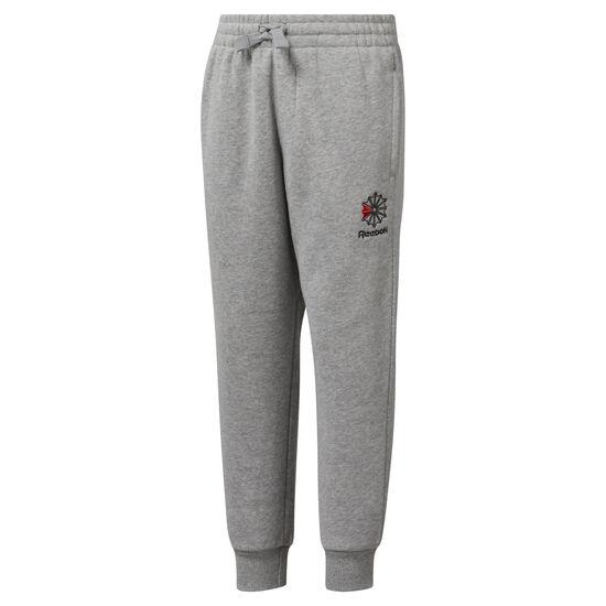 Reebok - Boys' Classics Pants Medium Grey Heather DH3320