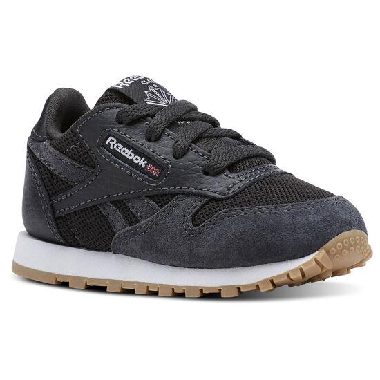 Reebok - Classic Leather ESNTLS Coal/White CN1144