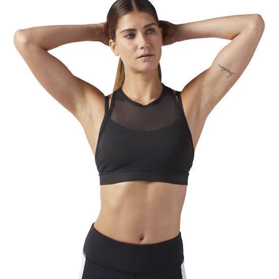 Reebok - Reebok Hero Strong Bra Black CD7686