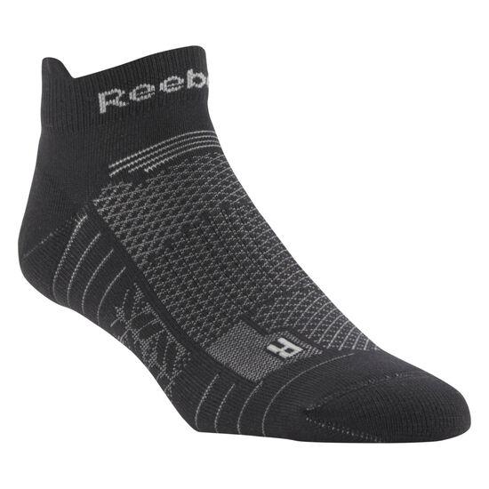 Reebok - Reebok ONE Series Running Unisex Ankle Sock Black/Mgh Solid Grey CD7234