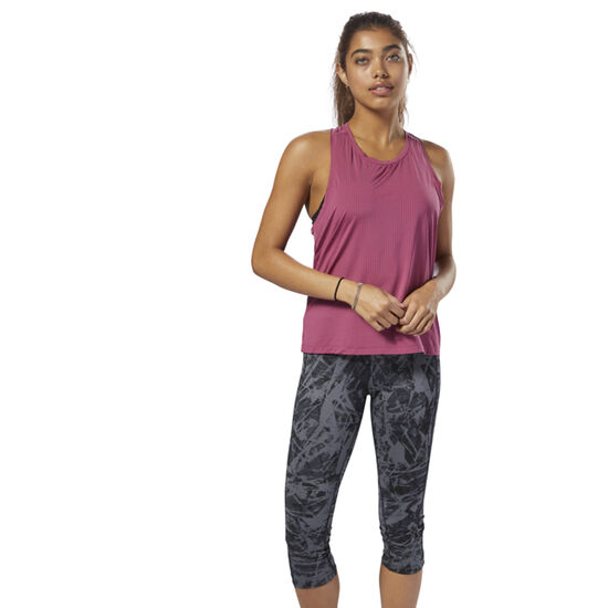 Reebok - Perforated Speedwick Tank Twisted Berry D93962