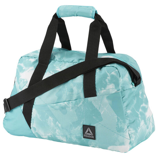 Reebok - Graphic Print Grip Bag Turquoise/Solid Teal CE2716