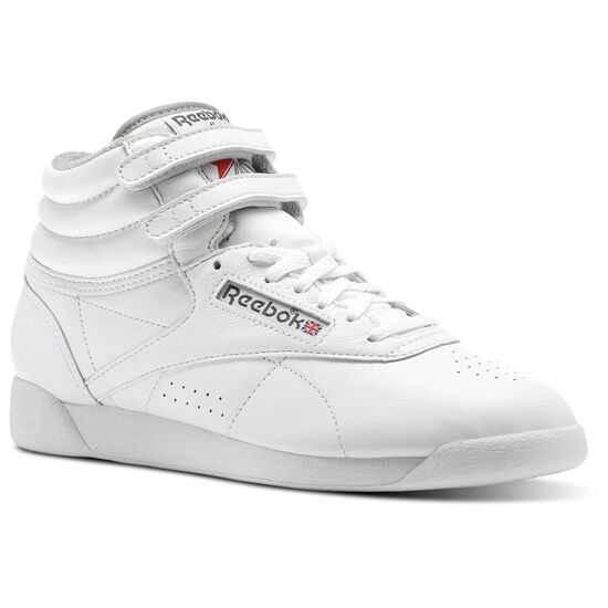 Reebok - Freestyle HI ARCHIVE White/Carbon/Red/Grey CN0796