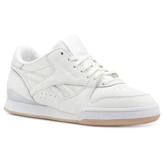 Reebok - Phase 1 Pro Enhanced-White/Bare Beige/Rose Gold/Chalk CN5460