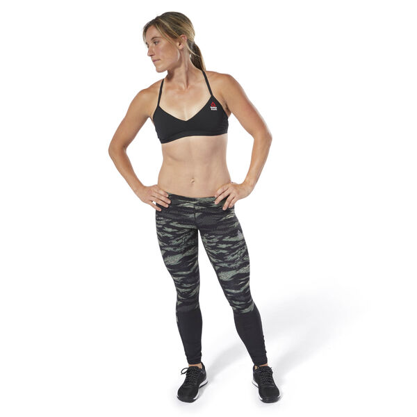 aa88243281568 Reebok CrossFit Micro Bra Black DM5658