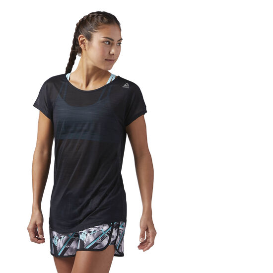Reebok - Workout Ready ACTIVChill Tee Black CD7592