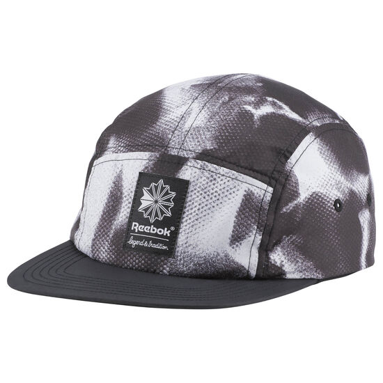 Reebok - Classic 5 Panel Graphic Hat Black CV8489