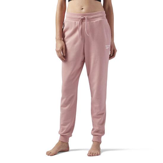Reebok - French Terry Jogger Pants Chalk Pink CV9538