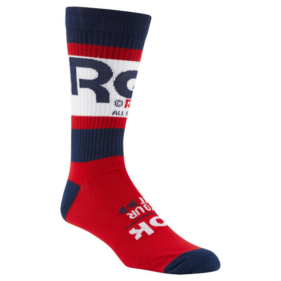 Reebok - Classics Graphic Crew sock Collegiate Navy DH3557