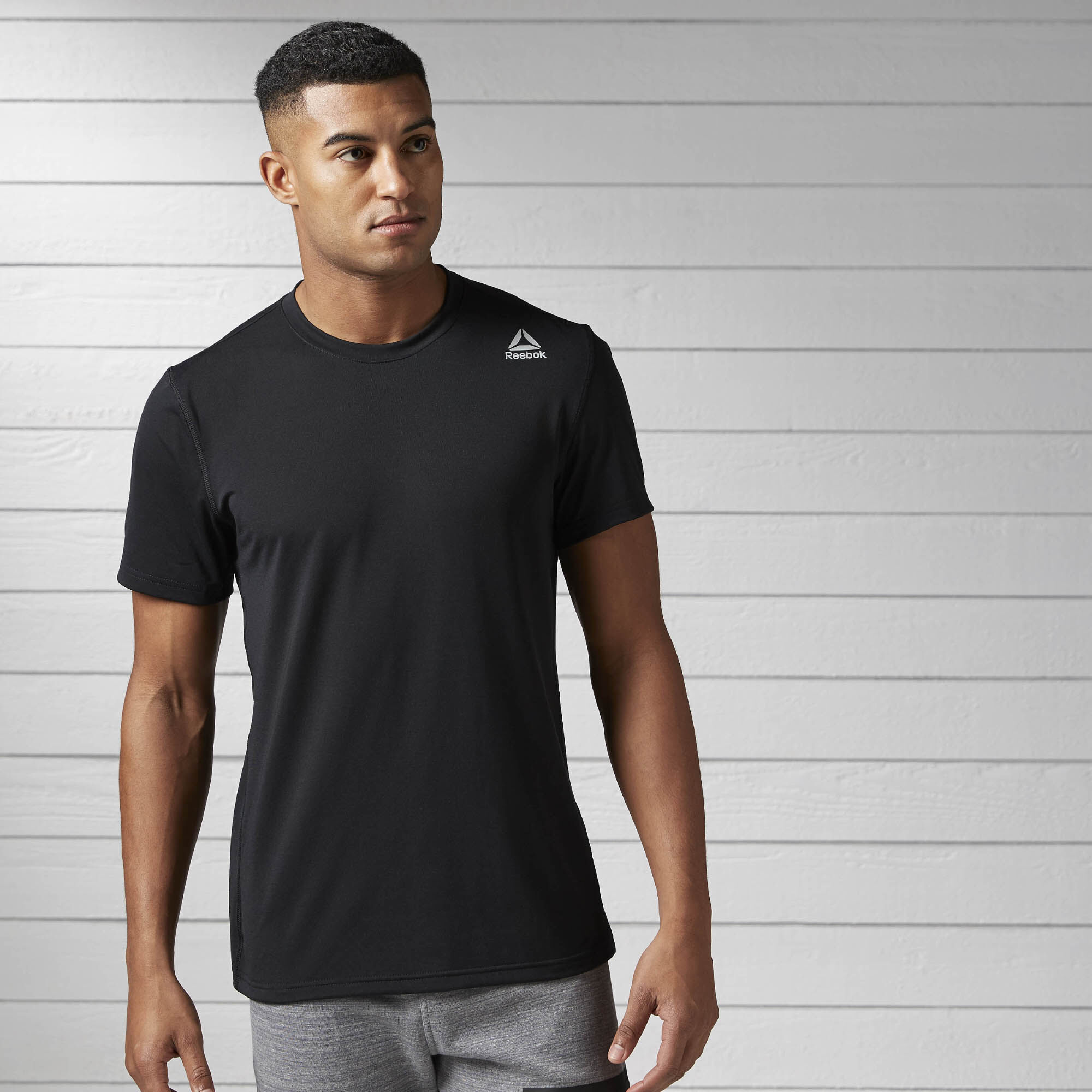 Reebok - Workout Ready Supremium 2.0 Tee Black BK6310