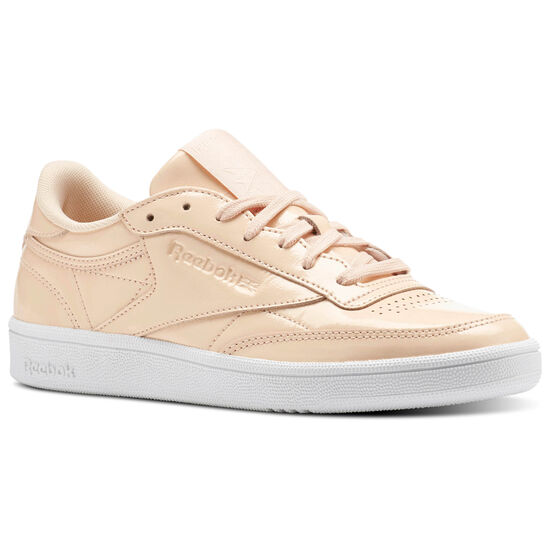Reebok - Club C 85 Patent Pink/Desert Dust/White BS9778