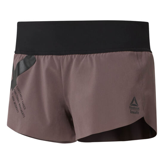 Reebok - Reebok CrossFit Knitted Waistband Shorts - Graphic Almost Grey D94947