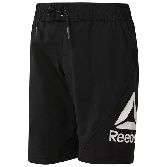 Reebok - Boy's Workout Ready Boardshorts Black CG0270
