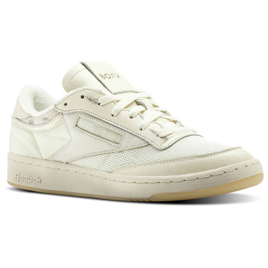 Reebok - Reebok Classics x Walk of Shame Club C Olympic Creme/Yellow Filament/Sepia/Blue/Purp CN6982