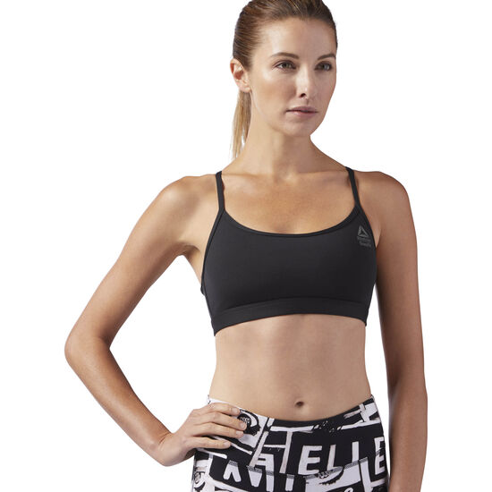 Reebok - Reebok CrossFit Front Rack Sports Bra Black BK1018