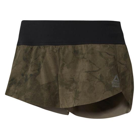 Reebok - Reebok CrossFit Knitted Waistband Shorts - Stone Camo Black CY5681