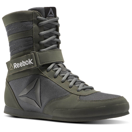 Reebok - Reebok Boxing Boot - Buck Green/Iron Stone/Black BS8266