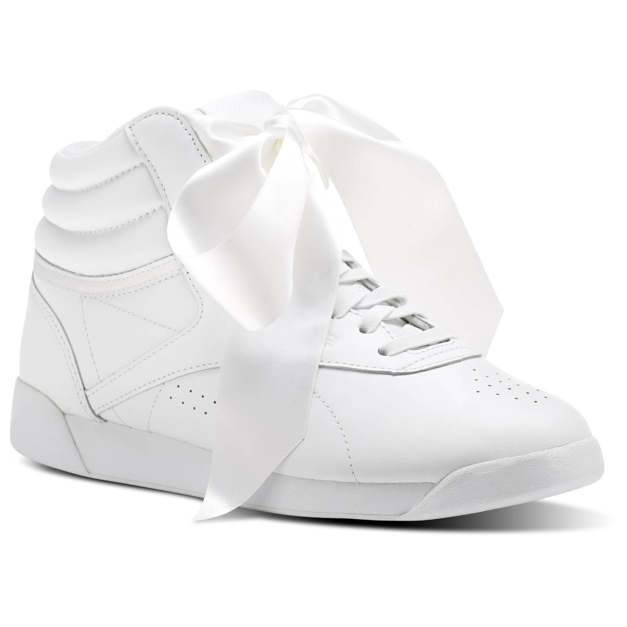 Freestyle Reebok Baskets Arc Salut Satin Blanc - G6Go9O