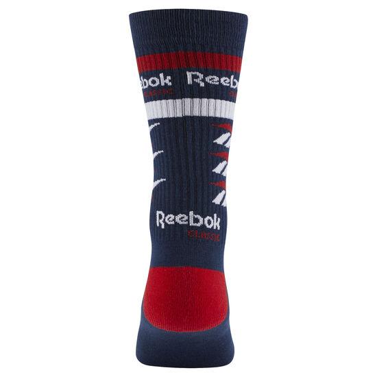 Reebok - Classics Vector Graphic Crew sock Collegiate Navy DN6023