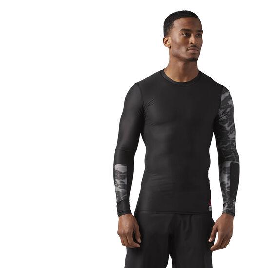 Reebok - Reebok CrossFit Compression Long Sleeve Tee Black CE2627