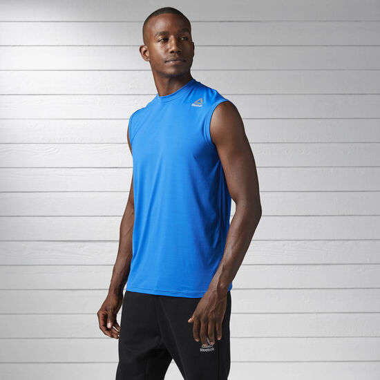 Reebok - Workout Ready ACTIVCHILL Tank Awesome Blue BS1424