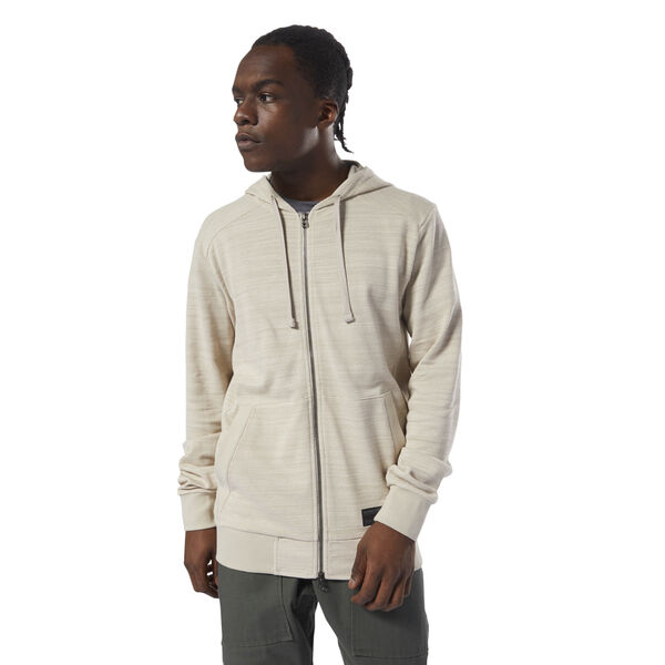 Noble Fight Hoodie White D96043