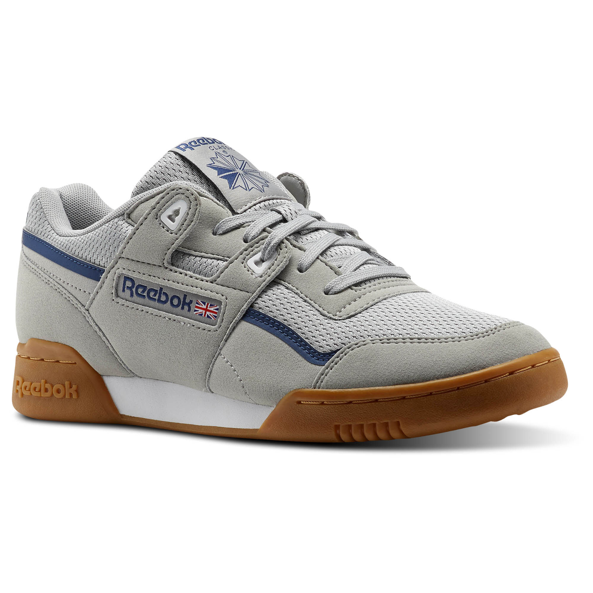 Reebok - Workout Plus MVS Stark Grey/Washed Blue/Ash Grey/White CM9926.  Read all 7 reviews. Men Classics