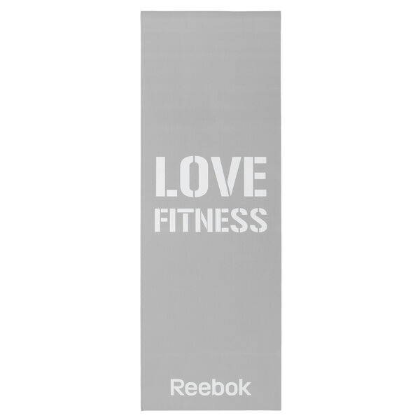 Fitness Mat Grey Love Grey B78435