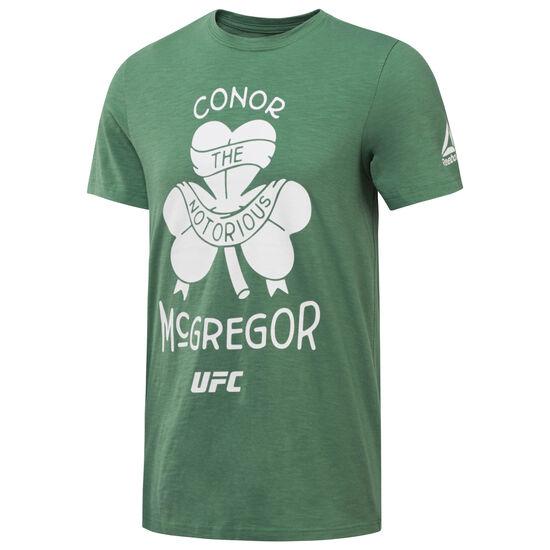Reebok - UFC McGregor Artist T-Shirt Basil Green CD5423