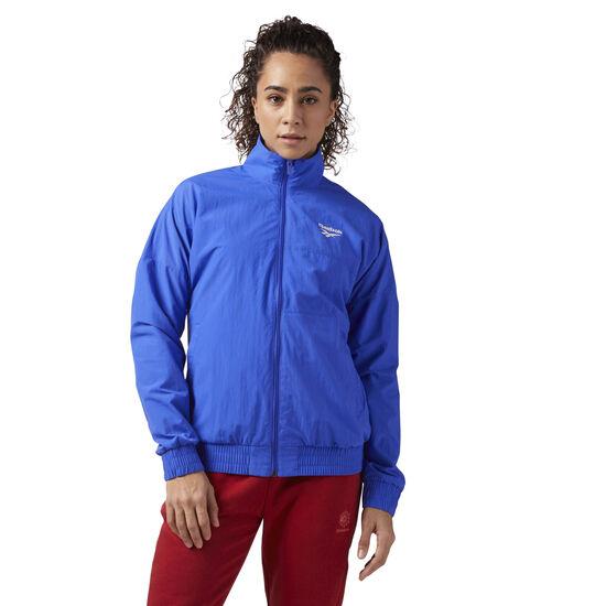 Reebok - Reebok Classics Logo Jacket Acid Blue CF3969