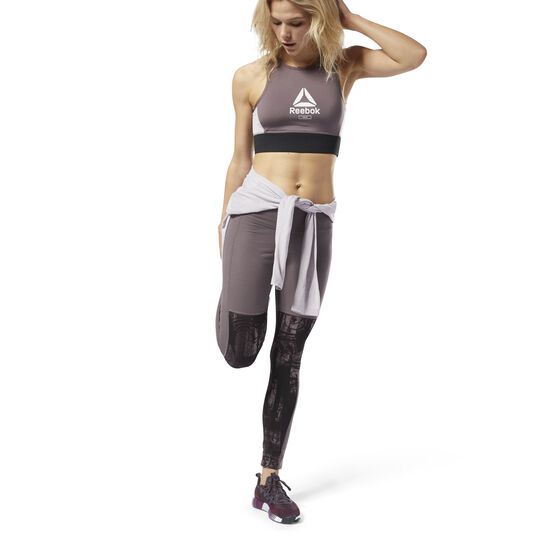 Reebok - Training Essentials Pannel Legging Almost Grey D95805