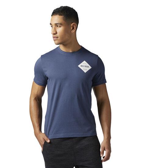 Reebok - Diamond Reebok T-Shirt Smoky Indigo BR5627