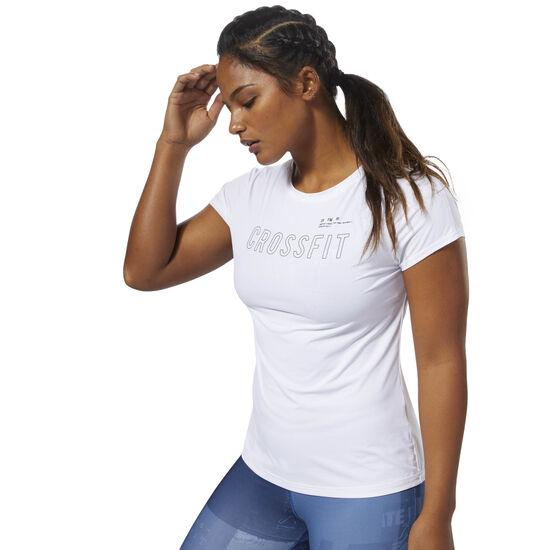Reebok - Reebok CrossFit ACTIVCHILL Tee White D94926